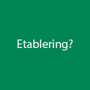 Etablering